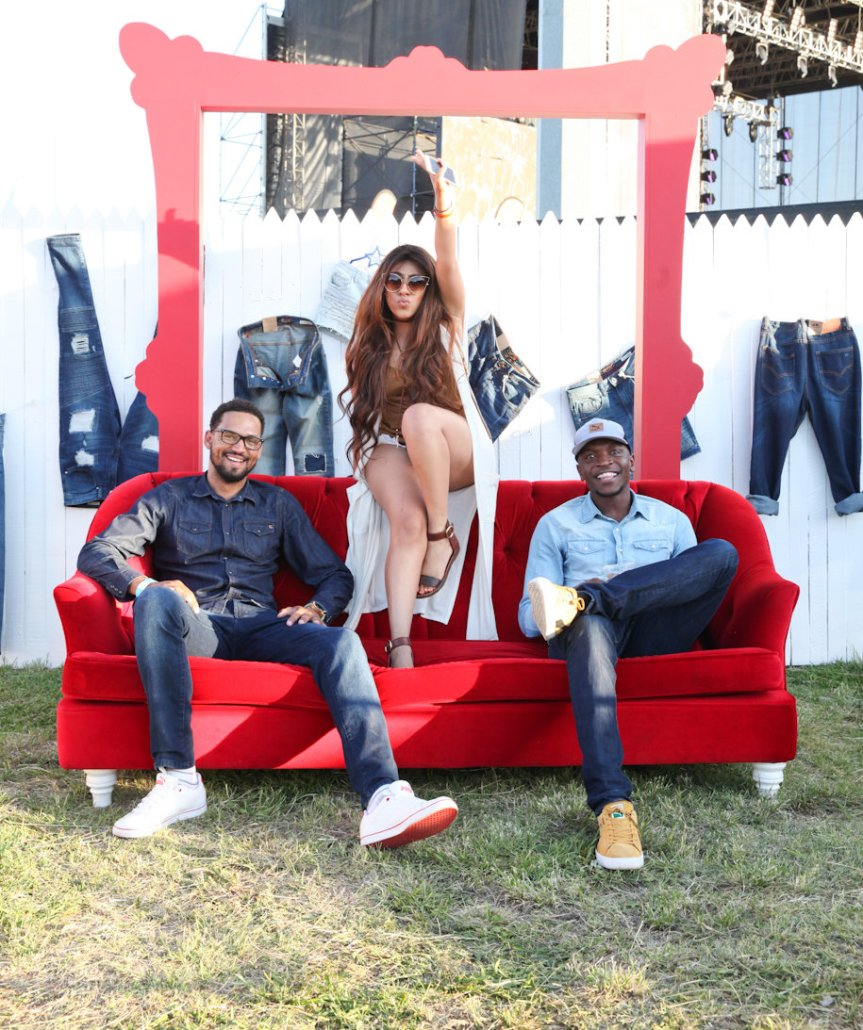 Fashionably Loud Denim Sizzles at the Black Coffee Block Party!